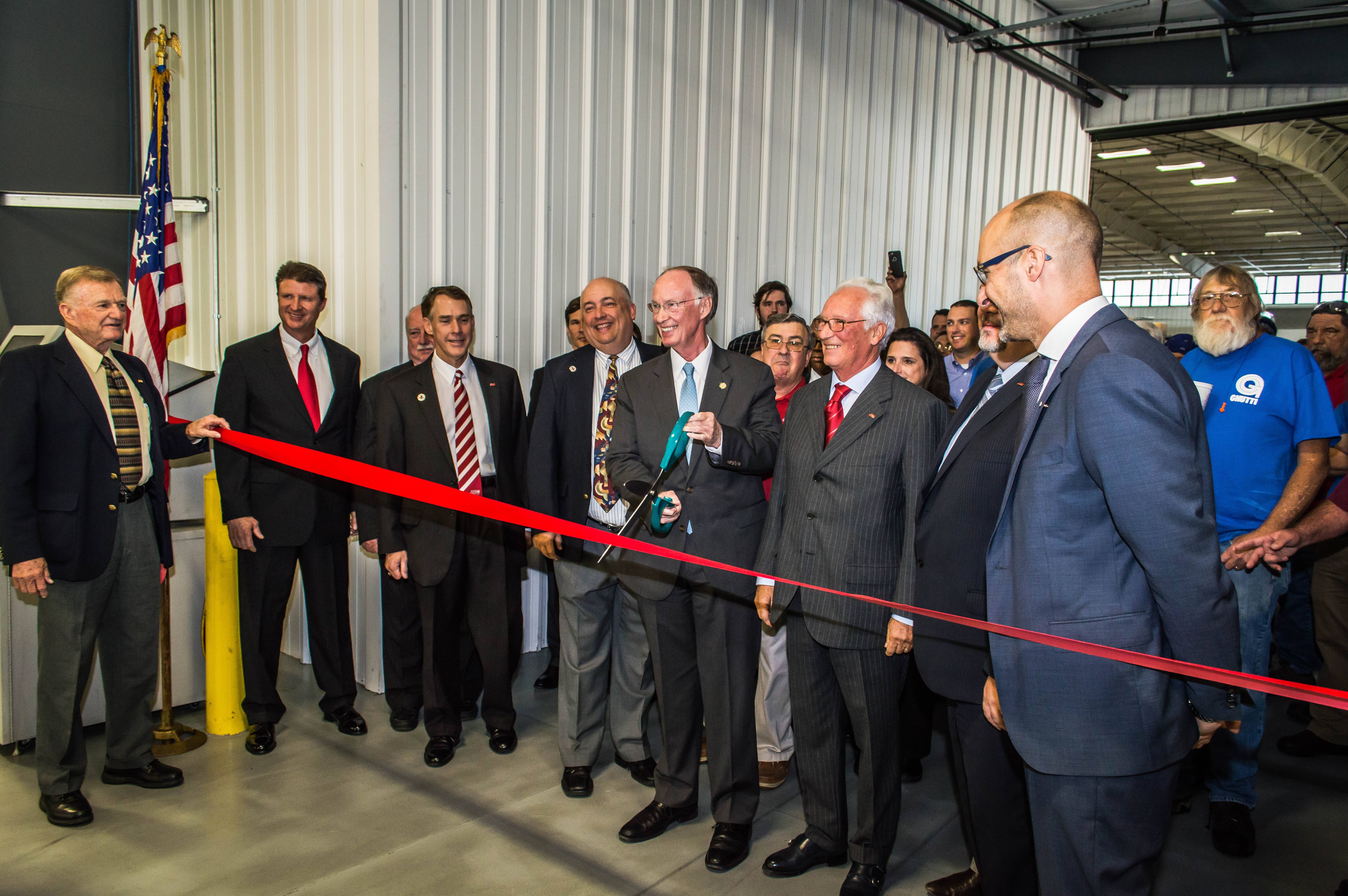 Alabama calhoun county eastaboga - Paolo Groff Ceo Of Gnutti Carlo Stated At The Ribbon Cutting We Have Invested Here In Alabama More Than 9 Million Between The Foundry And Machine Shop
